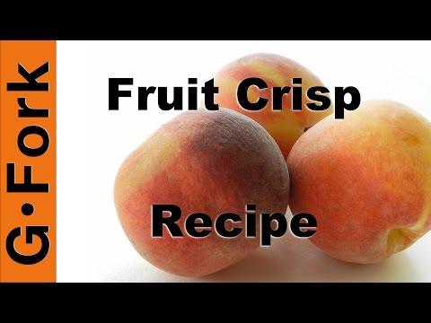 Fruit Crisp From the Archive! - GardenFork