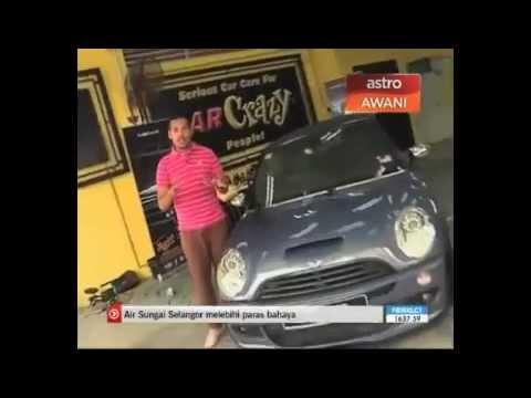 The Official Astro Awani Reports on Meguiar's in Malaysia
