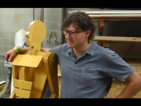 How To Build a Longboard, Making the Press.