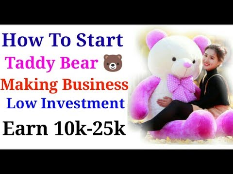 How to start soft toys making Business