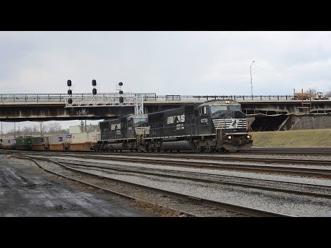 Night Moves: Norfolk Southern's Lehigh Line 1.28 - 1.29.17