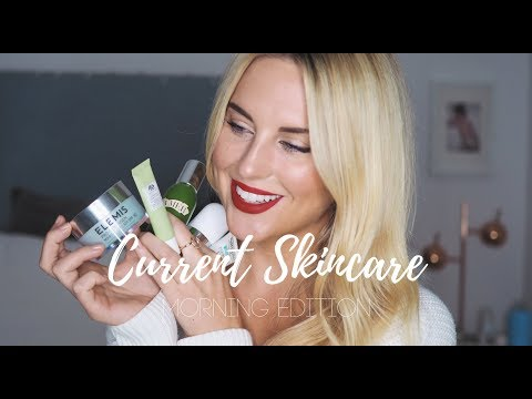 MY CURRENT SKINCARE ROUTINE || MORNING - STYLE LOBSTER