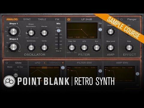 Logic Pro X - Exploring Retro Synth