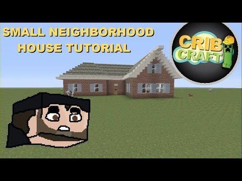 Minecraft House Tutorial- How To Build A Small Brick House (Minecraft Xbox 360)