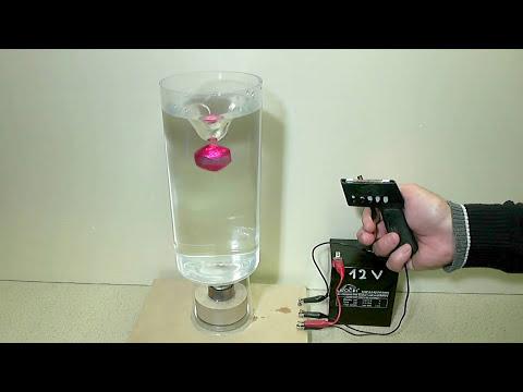Water Vortex with magnetism