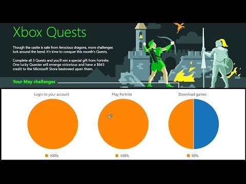 What Are The May Xbox Quests And How To Check Progress | Fortnite Free Item