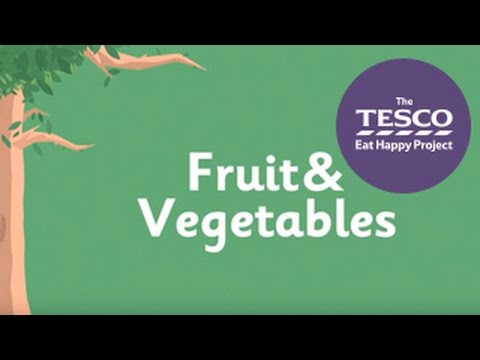 Show younger children why eating their fruit and veg is good for them