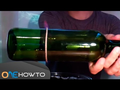 How to Cut Glass Bottles with a String and Fire
