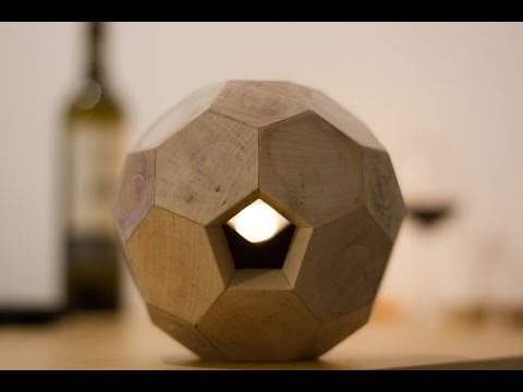 Wooden Truncated Icosahedron | LinuxCNC