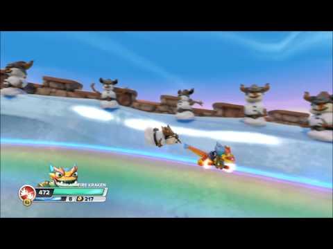 Let's Play Skylanders Swap Force - Episode 23 - Rainbow Surfing!