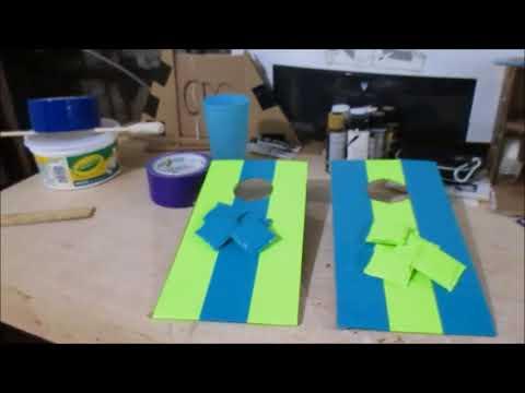 DIY Tabletop Corn hole