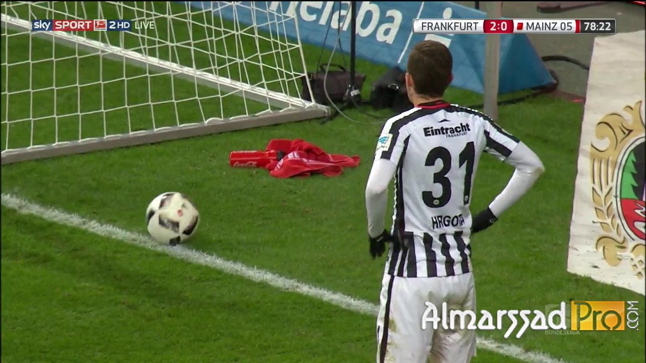 Ayman Barkok vs FC Mainz (20/12/2016)