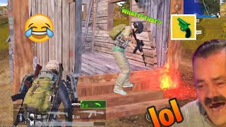 Trolling Noobs With Flare Gun🤣😂 | PUBG MOBILE FUNNY MOMENTS