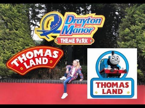 Thomas Land at Drayton Manor Theme Park - March 2018