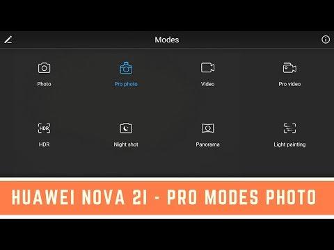 Huawei Nova 2i - Pro Modes Photo ( Test Light Trail Photography )