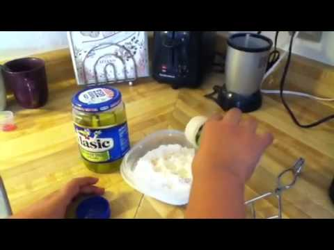 How to make fried pickles pt.1 of 3