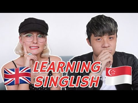 LEARNING SINGLISH FROM A SINGAPOREAN!