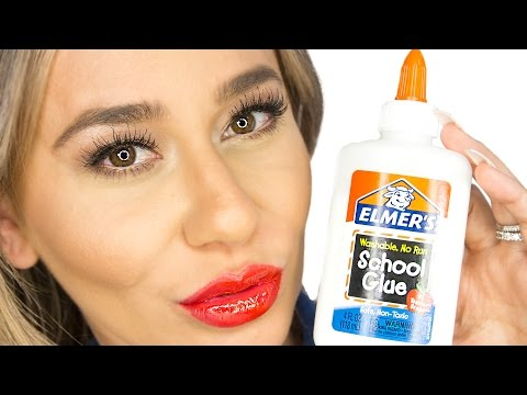 We Make Lip Stain Out of Elmer's Glue!