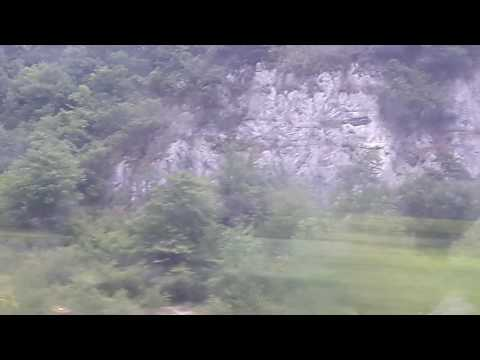 Train ride from Lyon France to Geneva Switzerland part 1