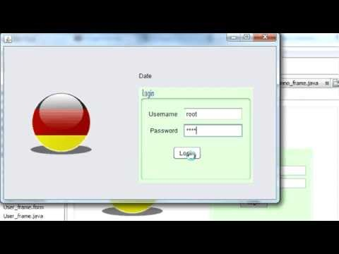 Java prog#55. How to Login by pressing Enter Key or Jbutton or both in java netbeans