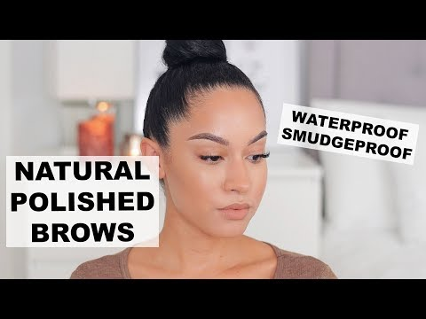 Eyebrow Tutorial | Natural Feathered Brows