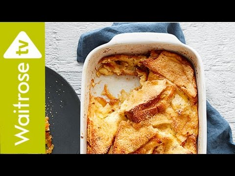 Marmalade-Sandwich Bread and Butter Pudding | Waitrose