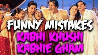 Everything Wrong With Kabhi Khushi Kabhie Gham (W/ Eng Subs) | Funny Bollywood Mistakes | Epi. #34