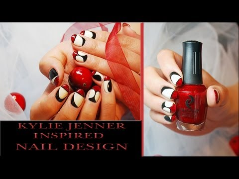 Kylie Jenner Inspired Nail Design Tutorial Nails Of Promise.