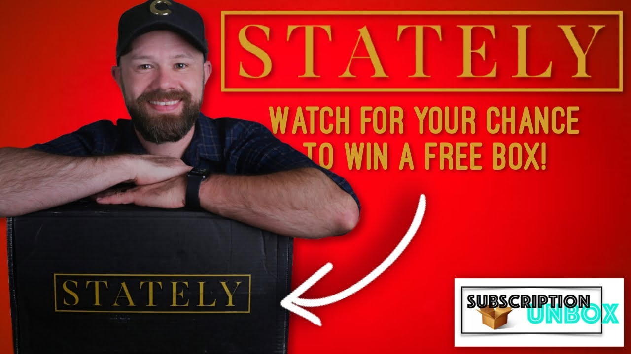 Men's clothing subscription - Stately + You could win a free box!! | August 2020