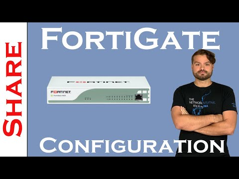 Basic FortiGate Configuration On FortiOS 5.4.x
