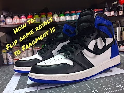 HOW TO: Flip Your Jordan 1 Game Royals to Fragments Tutorial PART 1