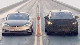 Tesla Model S P100D vs. Faraday Future FF 91 vs. Bentley Bentayga vs. Ferrari 488 GTB