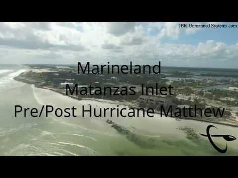 Marineland/Matanzas Inlet Post Hurricane Matthew