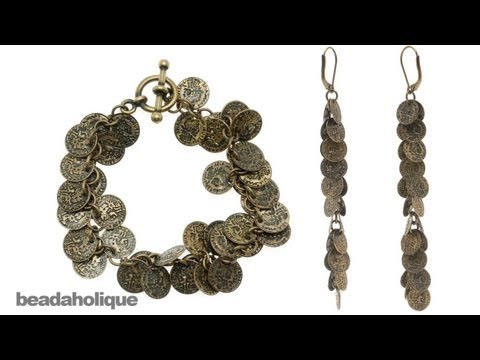 How to Use Charm Chain to Make a Bracelet & Earrings