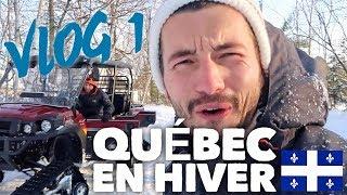 QuÉbec En Hiver - Vlog 1 : Une Première Journée De Rêve