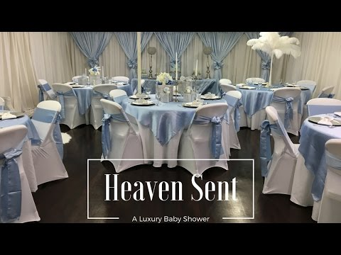 Heaven Sent Baby Shower| Tips & Ideas|Luxury Events
