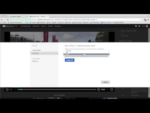 How to share Xbox One videos via Skydrive