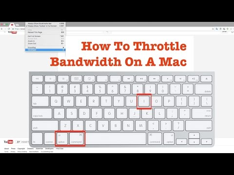 How to Throttle & Limit Network Bandwidth Speed On A Mac Free Using Chrome