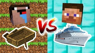 Minecraft - Noob Vs. Pro: Boat Challenge