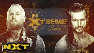 Aleister Black and Adam Cole