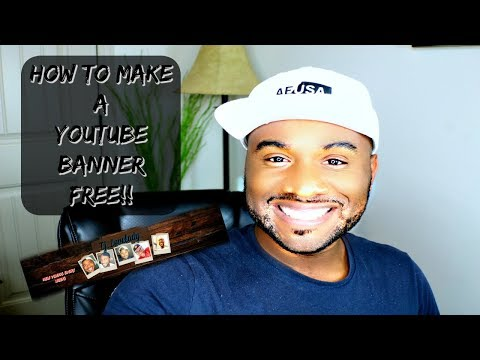 How To Make A YouTube Banner For Free On Pic Monkey Without Photoshop