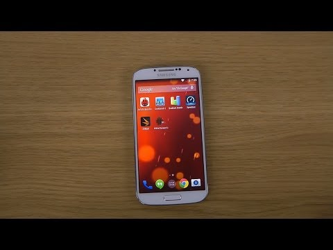 Samsung Galaxy S4 Android 4.4 Kitkat - KitKat Screen Capture / Recorder Test