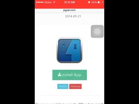 How to download ifile ios 7