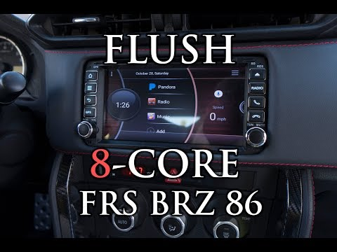 PERFECT FITMENT! FULL INSTALL ANDROID Headunit BRZ FRS 86