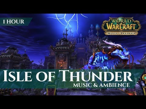 Isle of Thunder - Music & Ambience (1 hour, 4K, World of Warcraft Mists of Pandaria)