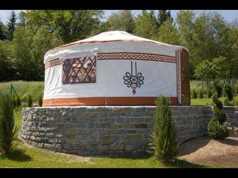 Majestic luxury yurt