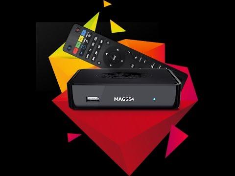 Unboxing Infomir MAG254 IPTV TOP BOX