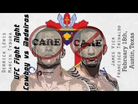 UFC Austin Care/Don't Care Preview