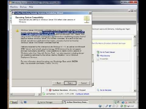 How to install/utilize Active Directory Domain Services