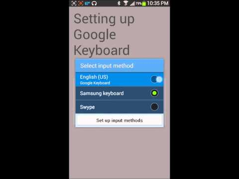 Add Greek keyboard on Android device using Google keyboard